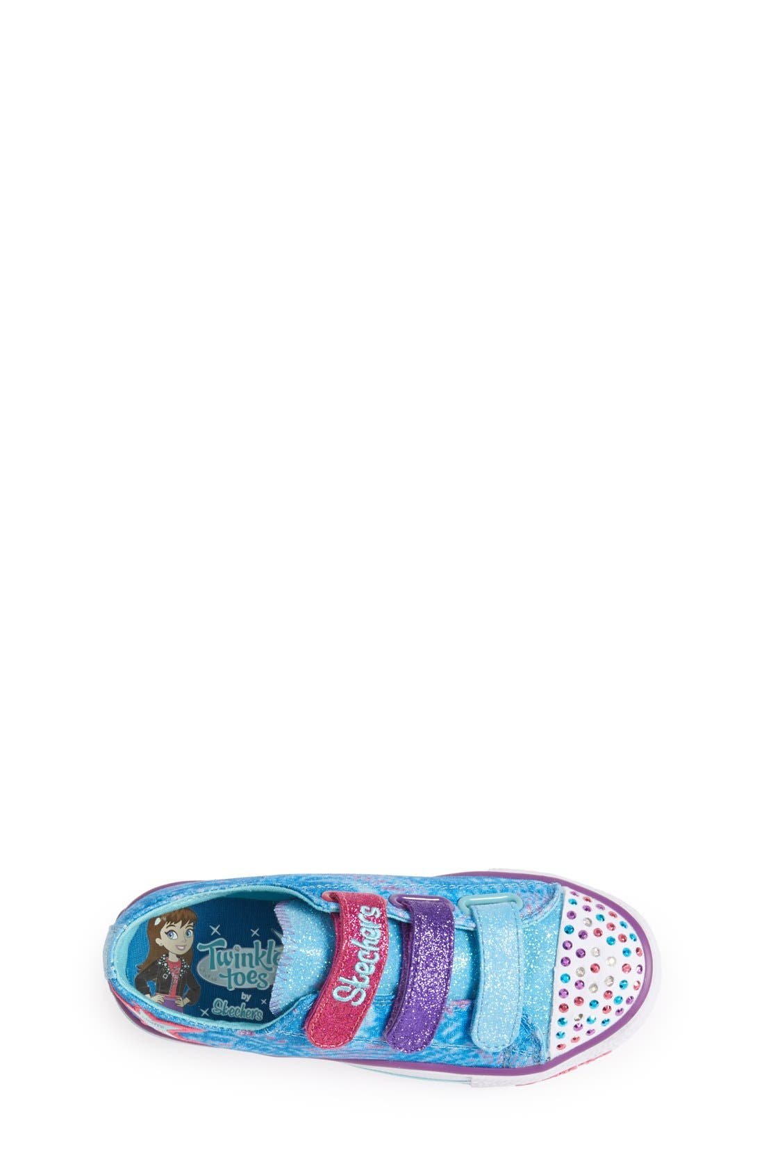 Alternate Image 3  - SKECHERS 'Twinkle Toes' Light-Up Sneaker (Toddler & Little Kid)