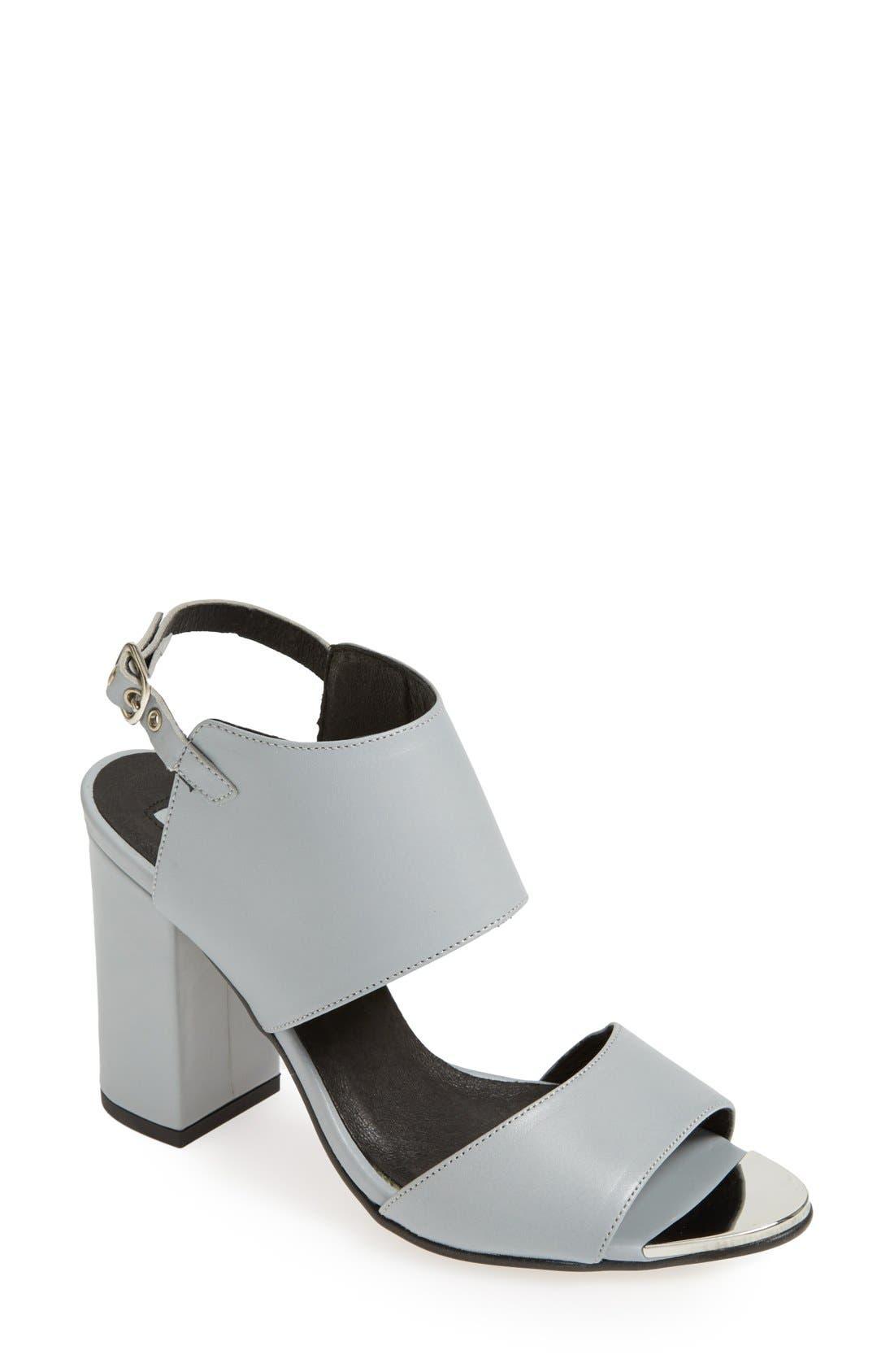 Alternate Image 1 Selected - Topshop 'Raff' Sandal (Women)