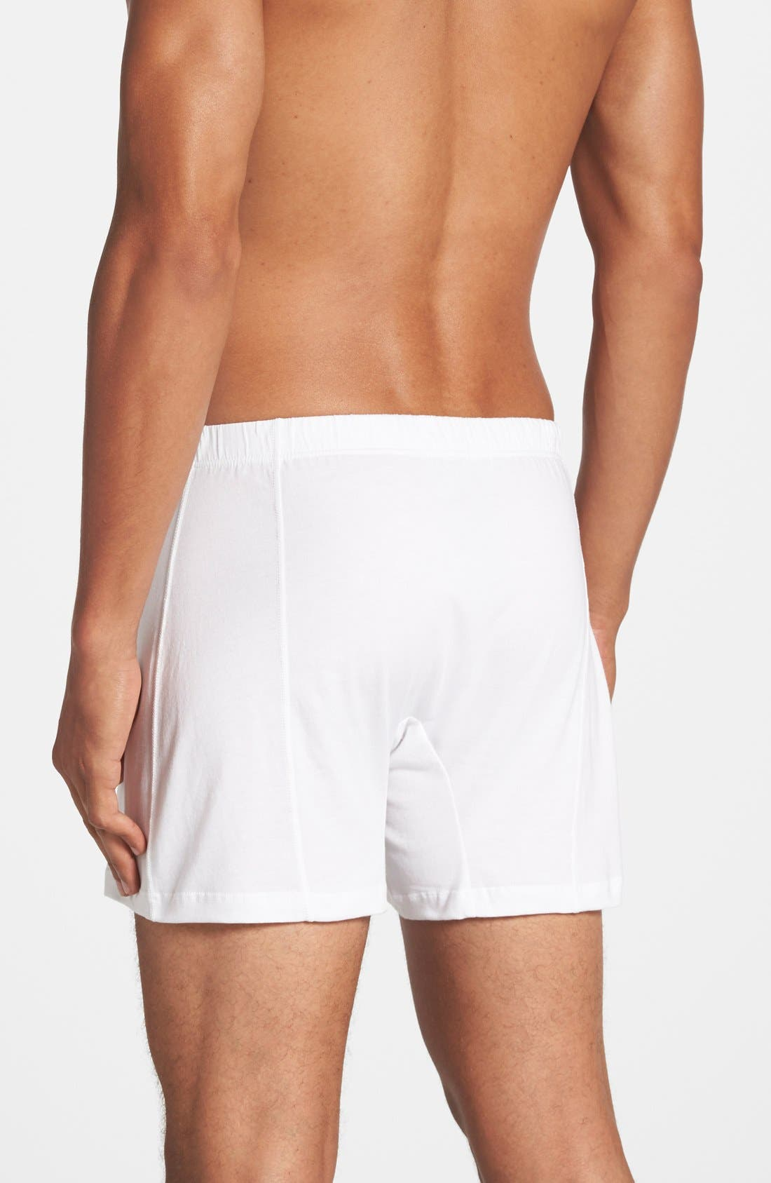 Alternate Image 2  - 2(x)ist Pima Cotton Knit Boxers