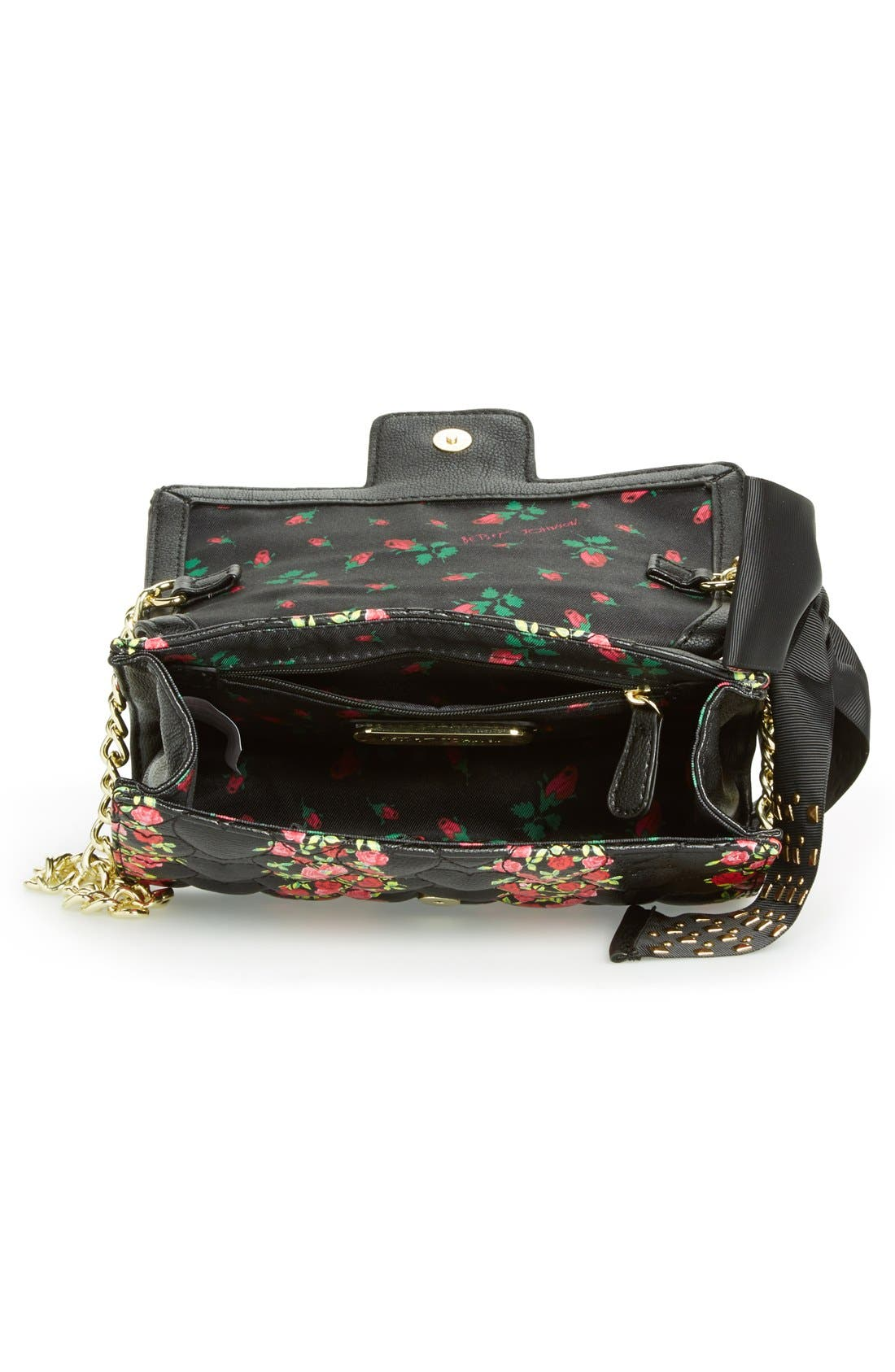 Alternate Image 3  - Betsey Johnson 'Be My Sweetheart' Crossbody Bag