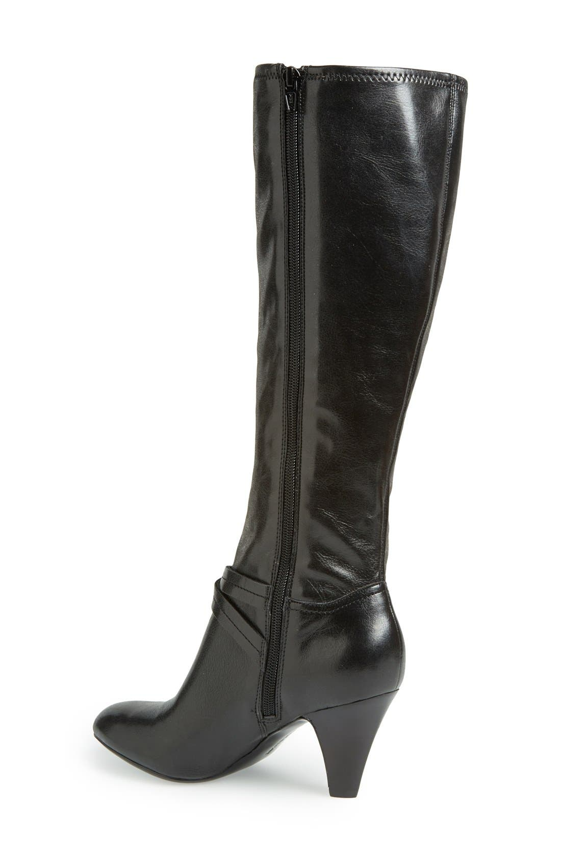 Alternate Image 2  - Naturalizer 'Byron' Knee High Boot (Women)(Wide Calf)