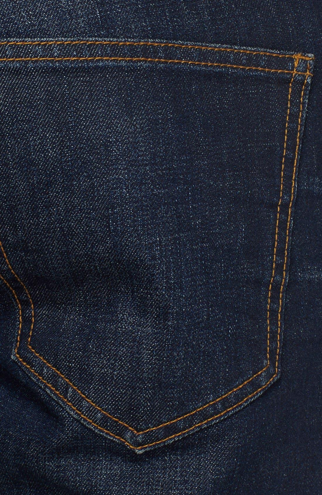 Alternate Image 4  - BLK DNM Skinny Fit Jeans (Gates Blue)