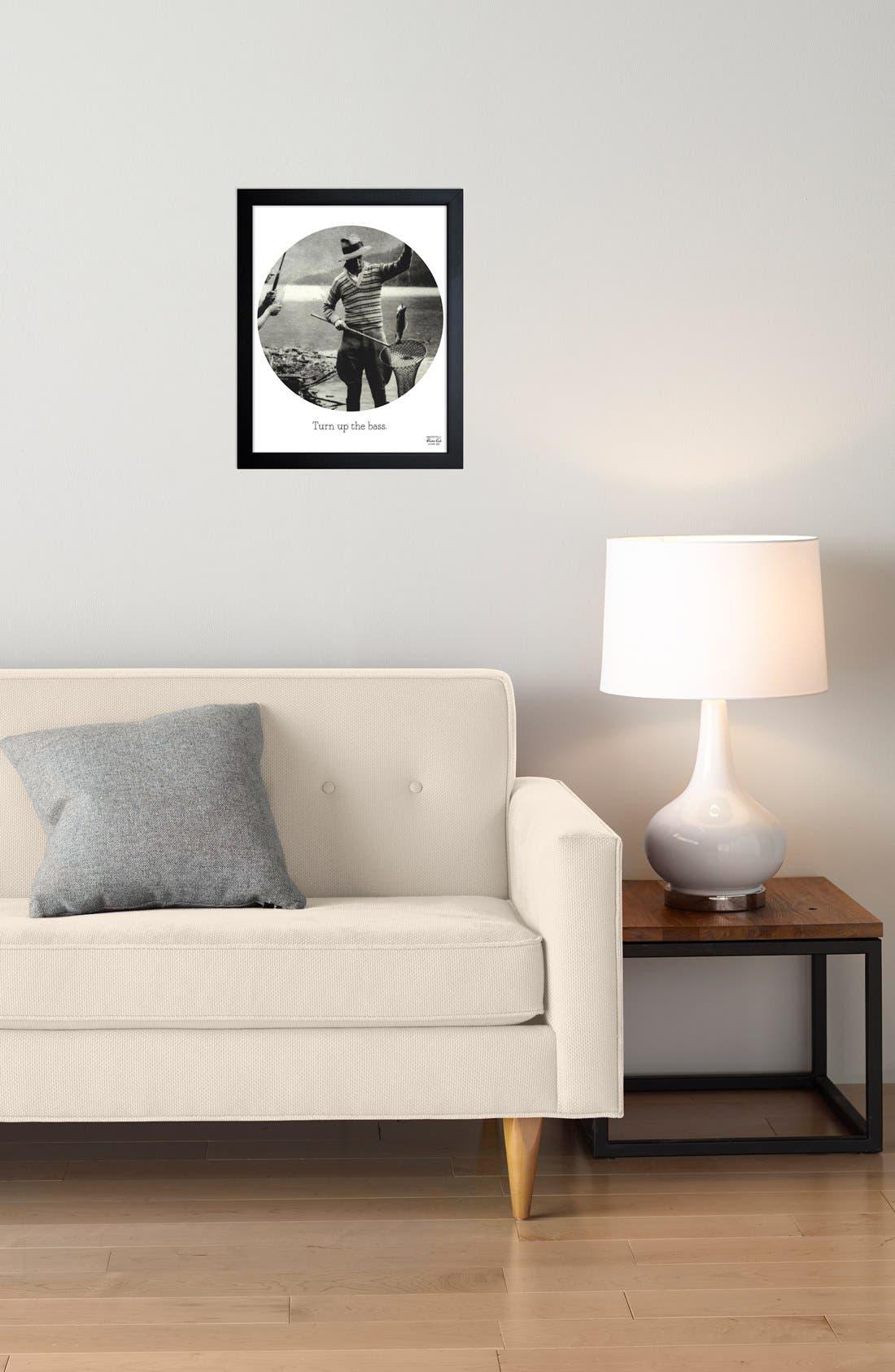 Alternate Image 2  - Oliver Gal 'Turn Up the Bass' Framed Print