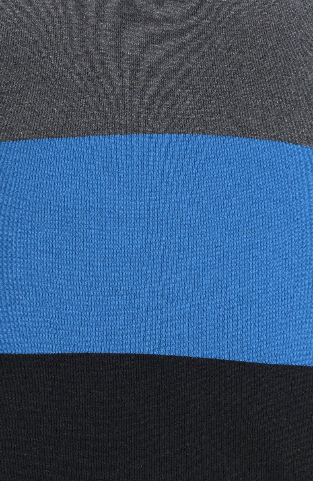 Alternate Image 3  - Vince Camuto Colorblock Boatneck Sweater (Plus Size)