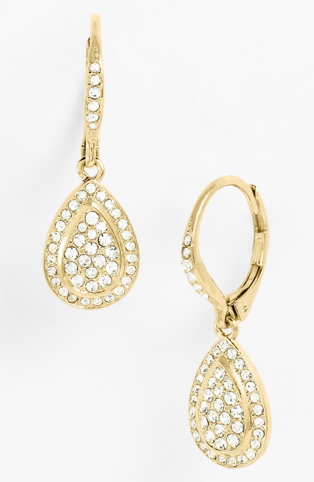 Main Image - Nadri Pavé Teardrop Earrings