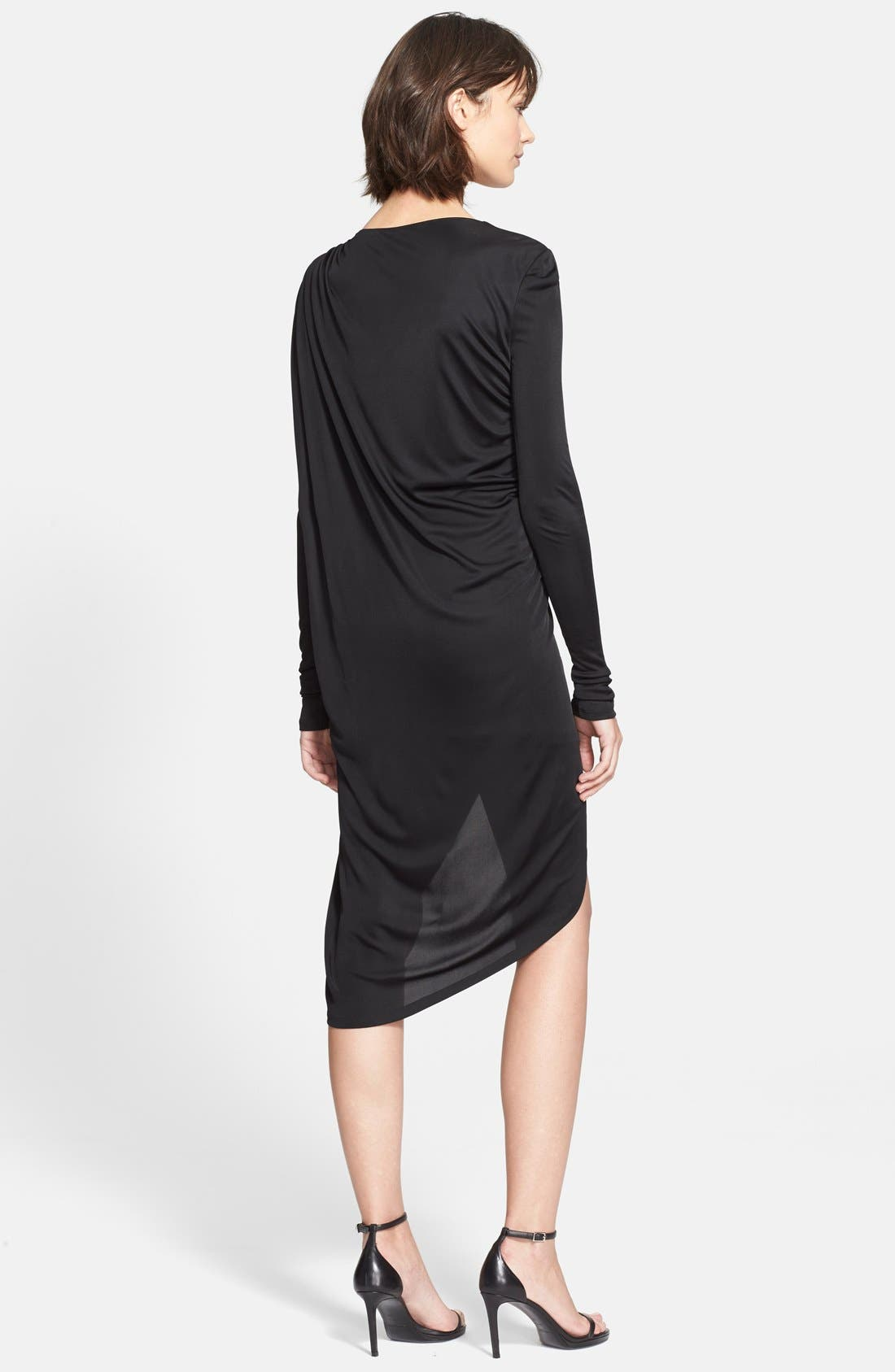 Alternate Image 2  - Rachel Zoe 'Gio' Ruched Asymmetrical Dress