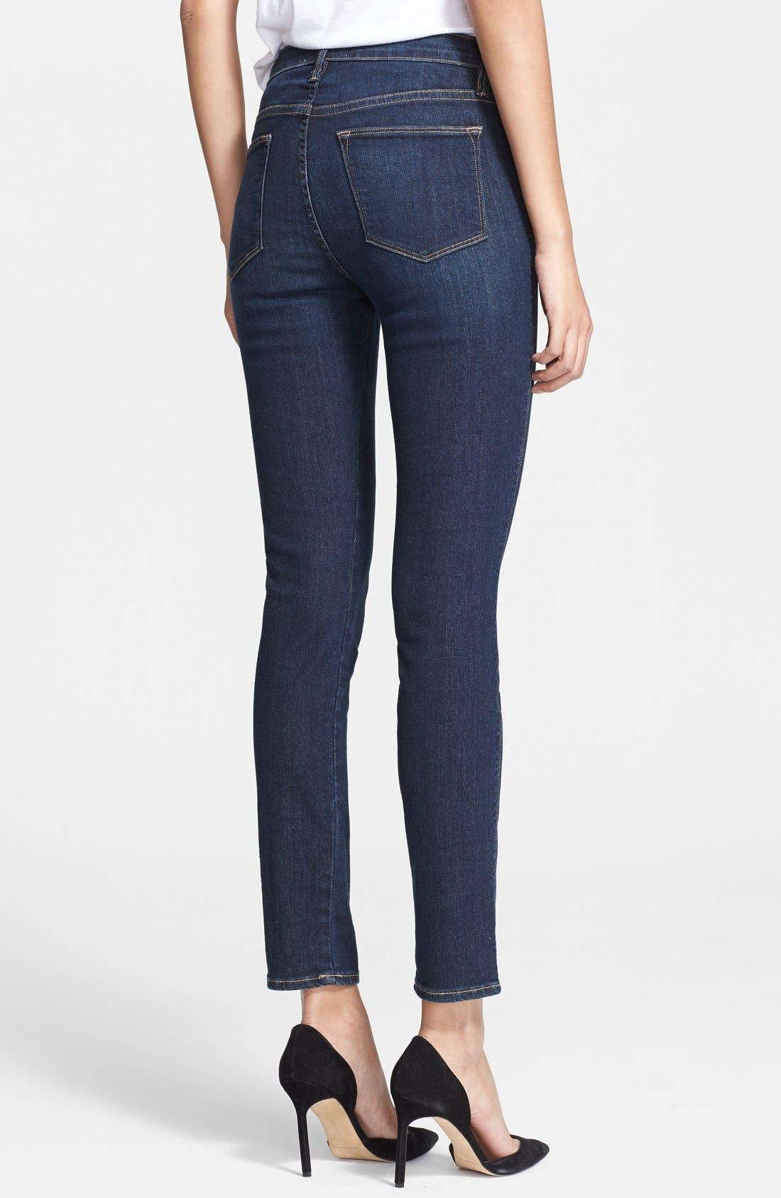 Alternate Image 2  - Frame Denim 'Le High Skinny' Jeans (Altair)