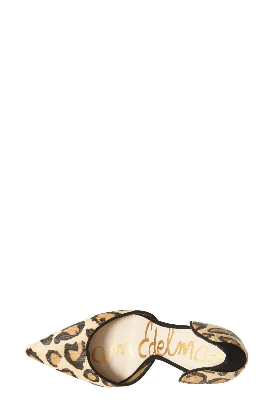 Alternate Image 3  - Sam Edelman 'Delilah' Calf Hair d'Orsay Pump (Women)