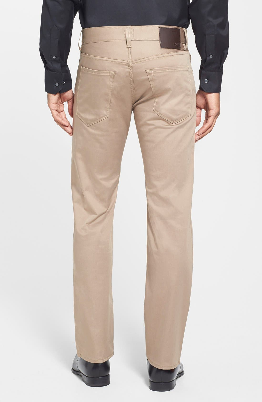 Alternate Image 2  - BOSS 'Maine Techno' Straight Leg Pants