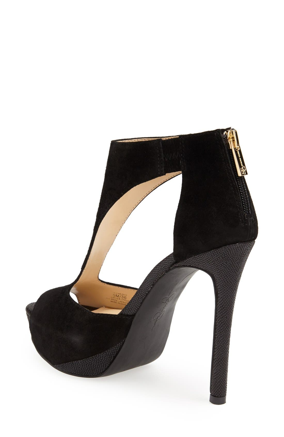 Alternate Image 2  - Jessica Simpson 'Carideo' Platform Sandal (Women)