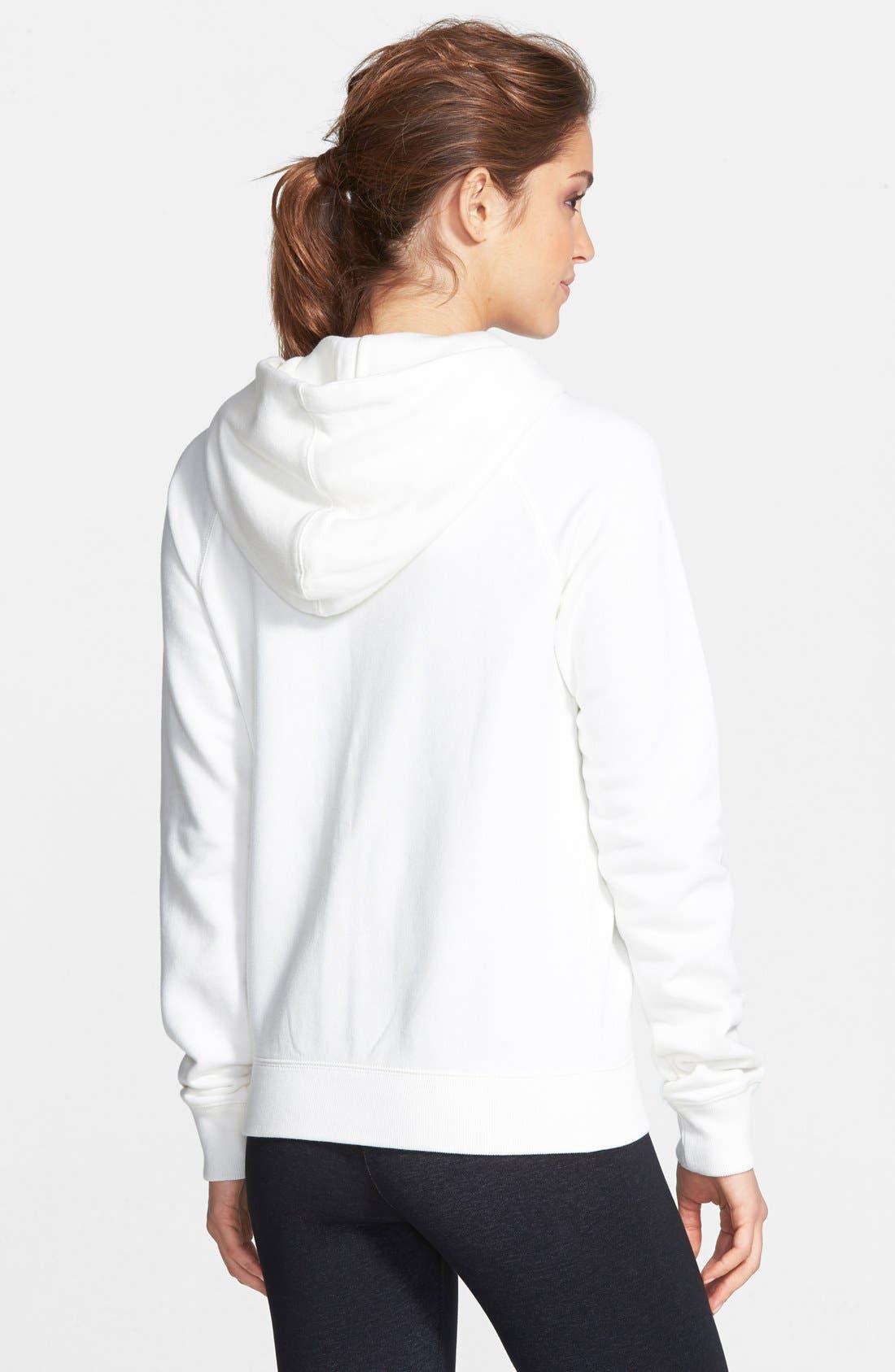Alternate Image 2  - Nike 'Rally' Full Zip Hoodie