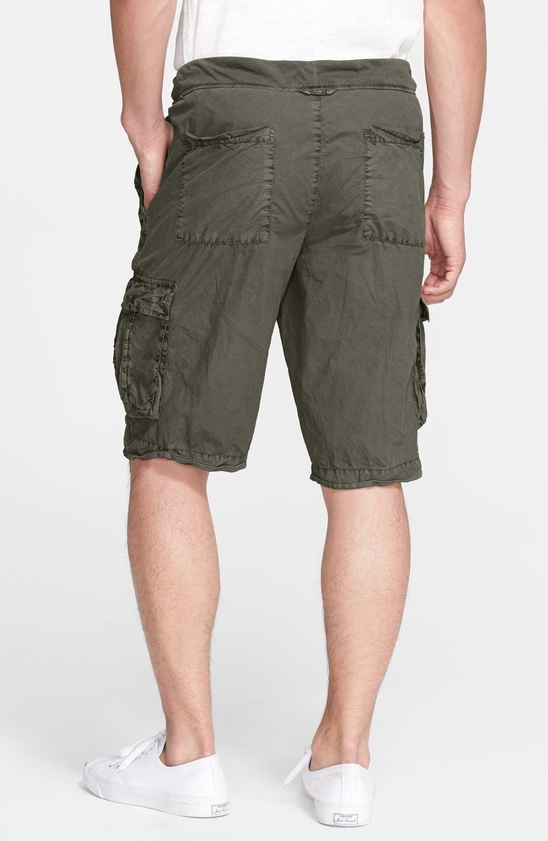 Alternate Image 2  - James Perse Drawstring Cargo Shorts