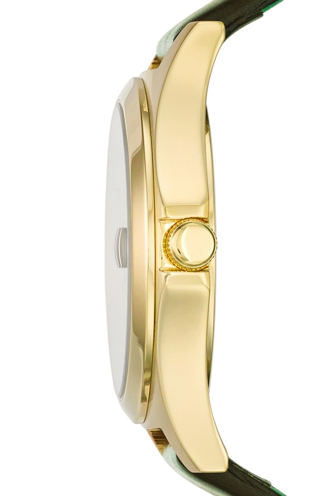 Alternate Image 3  - MARC JACOBS 'The Slim' Ombré Dial Leather Strap Watch, 36mm