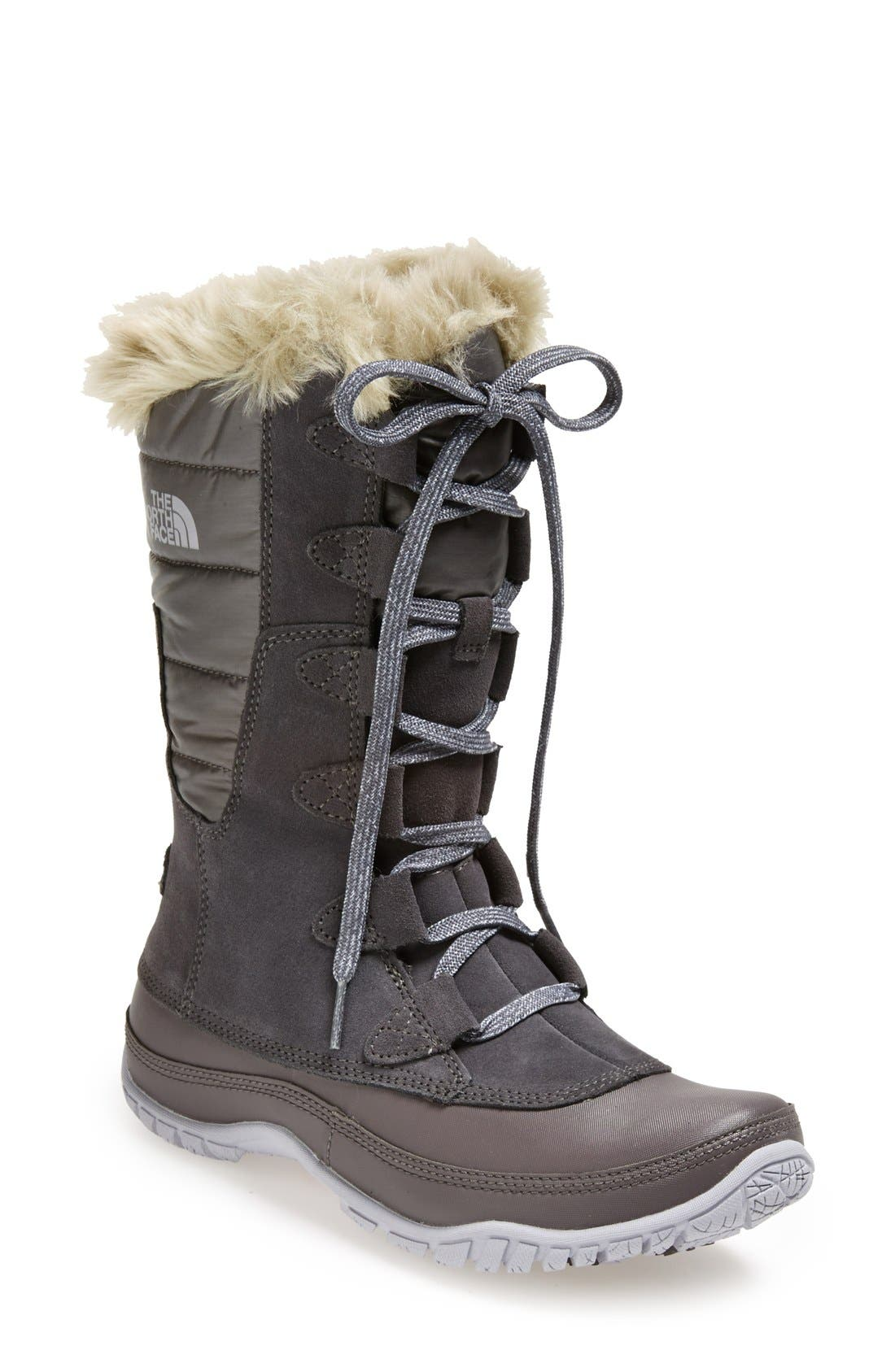 Alternate Image 1 Selected - The North Face 'Nuptse Purna' Waterproof PrimaLoft® Eco Insulated Winter Boot (Women)