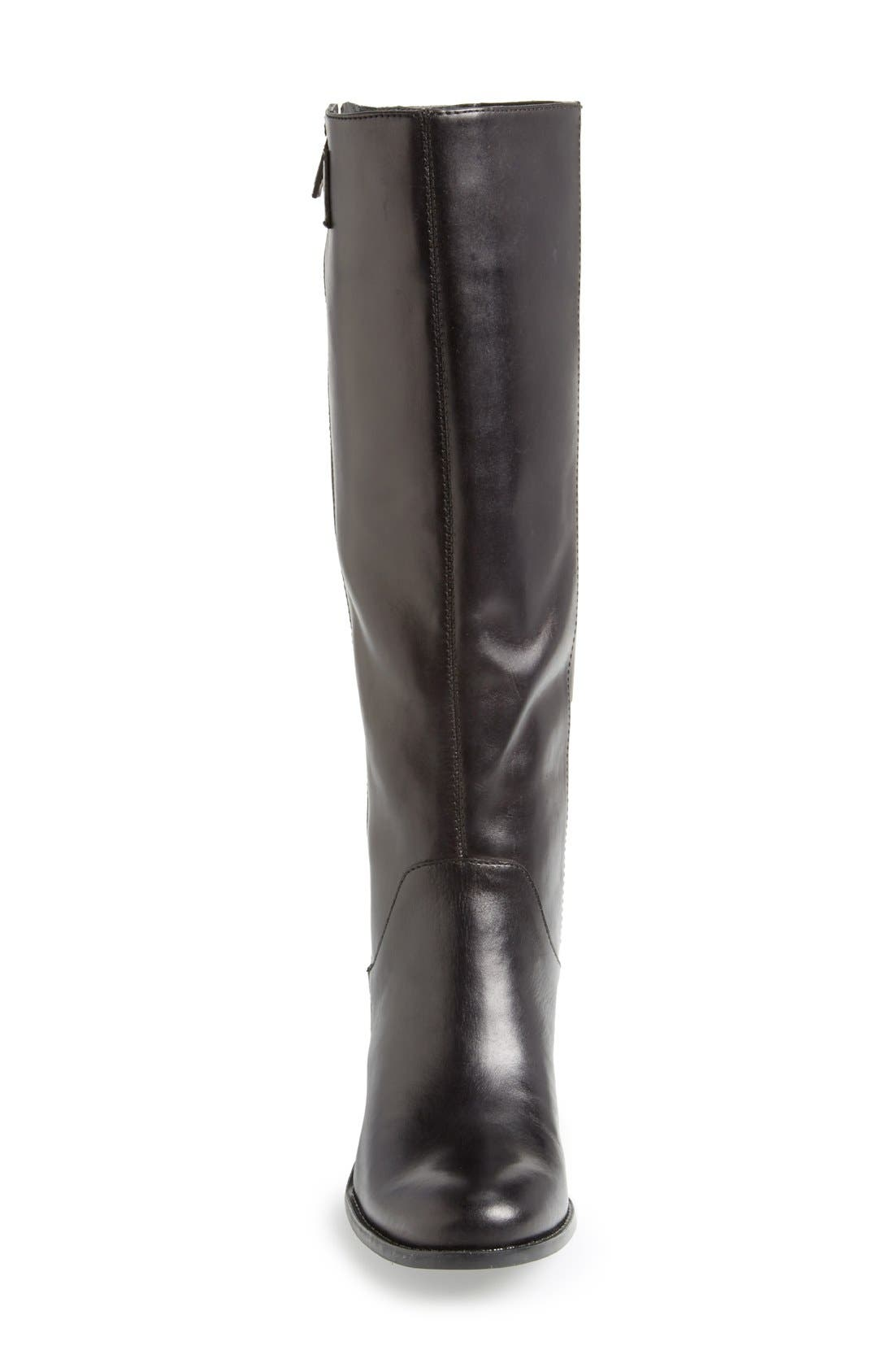 Alternate Image 3  - Sole Society 'Bria' Leather Knee High Boot (Women)