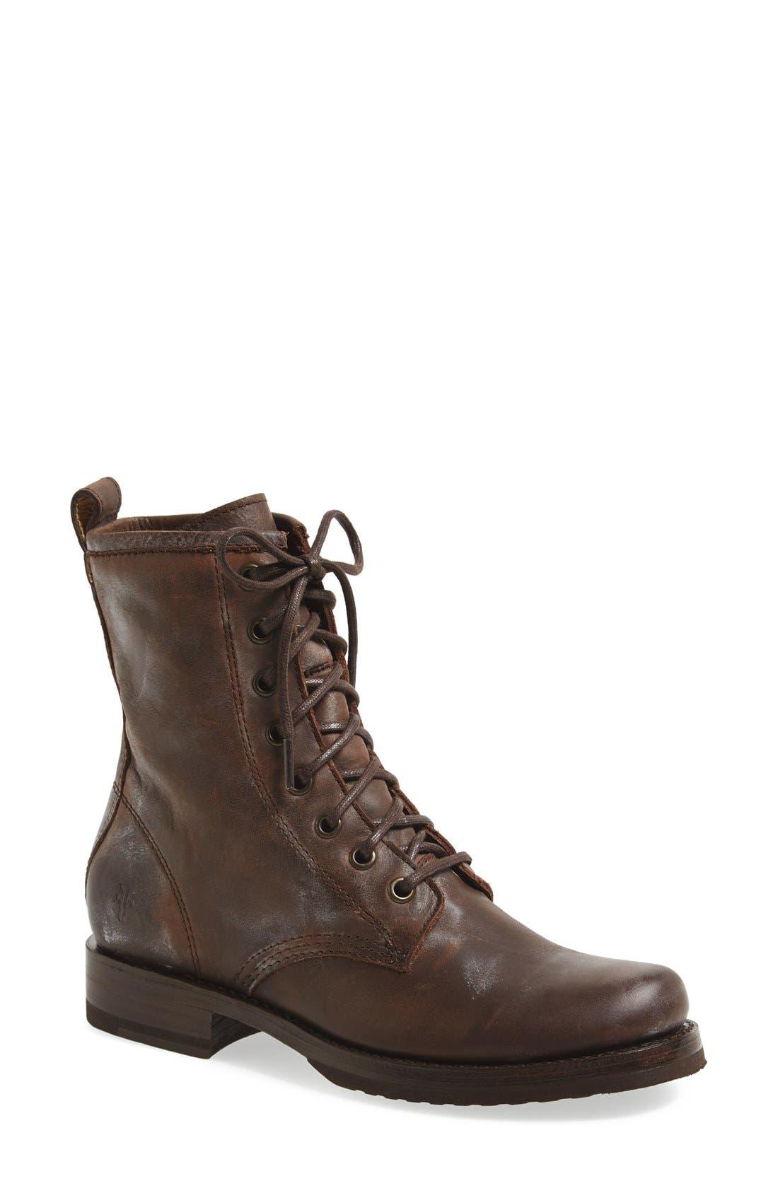 Main Image - Frye 'Veronica Combat' Boot (Women)
