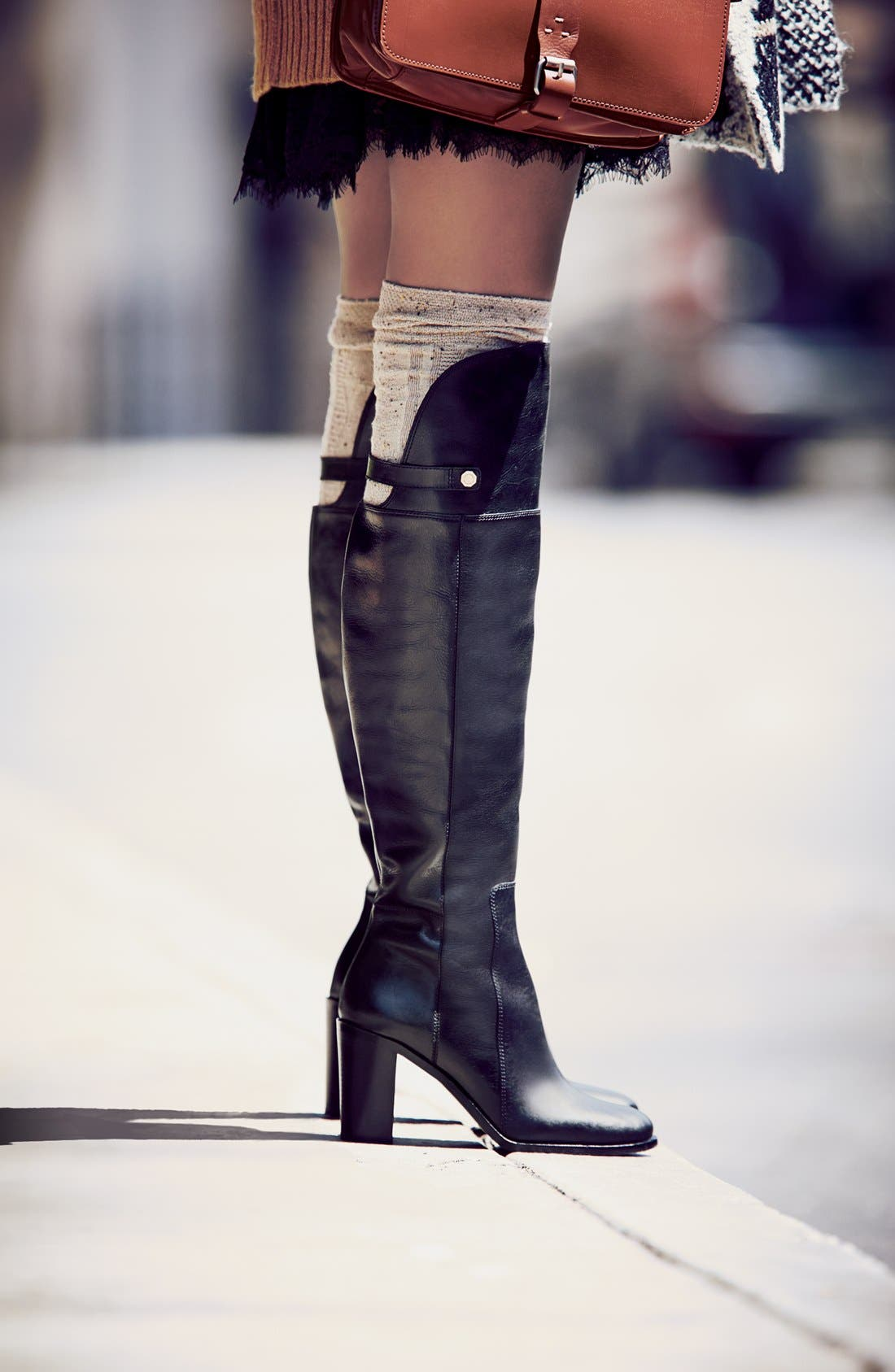 Alternate Image 5  - Louise et Cie 'Navaria' Over the Knee Leather Boot (Women)