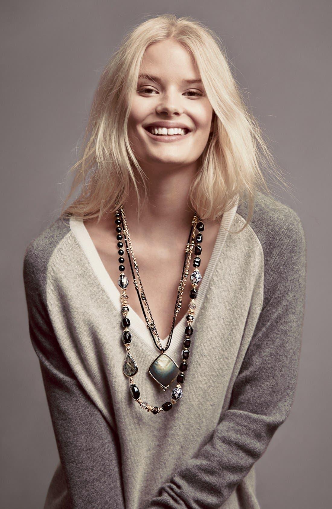 Alternate Image 3  - Sara Bella Bead Necklace