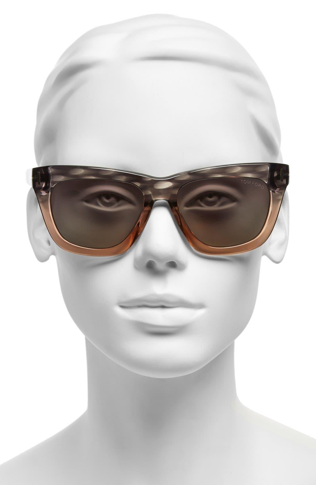 Alternate Image 2  - Tom Ford 'Celina' 55mm Polarized Sunglasses