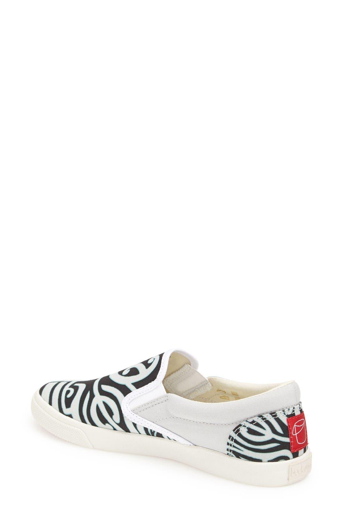 Alternate Image 2  - BucketFeet 'Tatau' Slip-On Canvas Sneaker (Women)