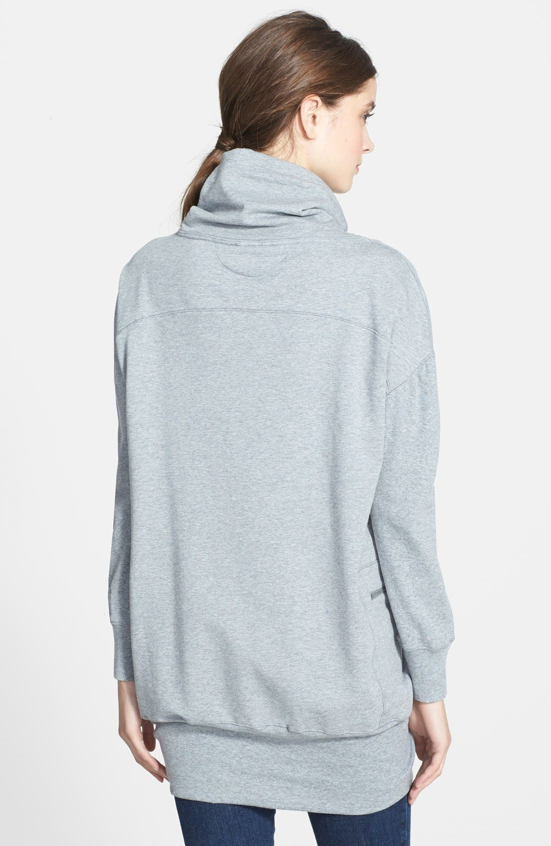 Alternate Image 2  - Chaus Cowl Neck French Terry Pullover