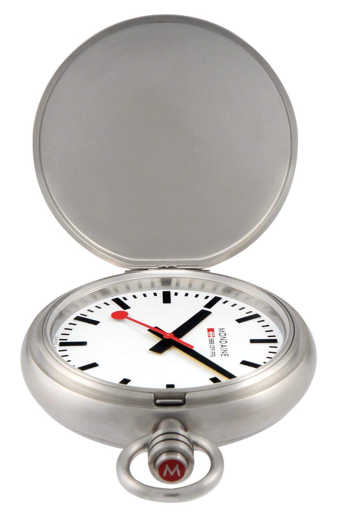 Main Image - Mondaine 'Savonnette II' Pocket Watch, 51mm