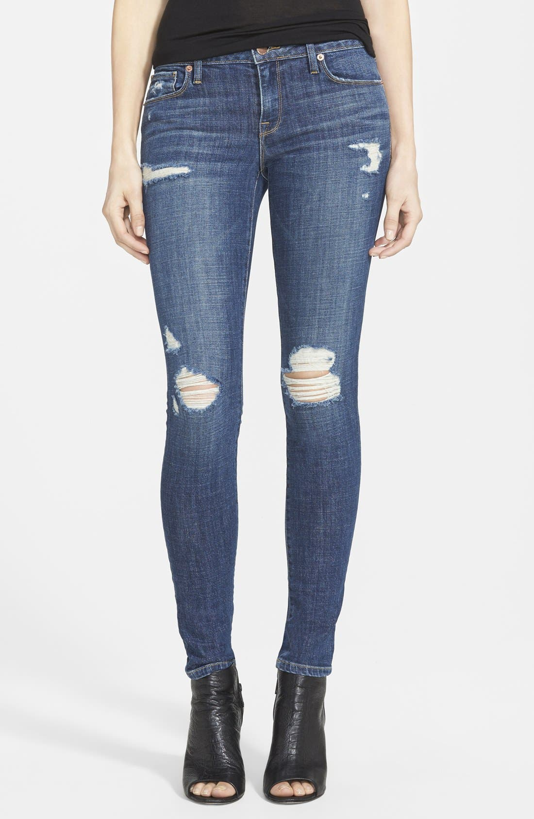 Alternate Image 1 Selected - Genetic 'Shya' Skinny Jeans (Aurora)