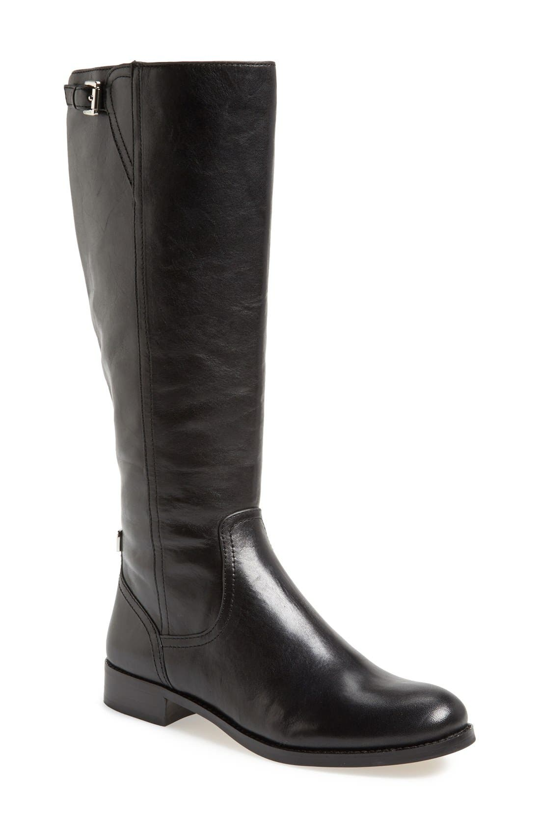 Alternate Image 1 Selected - COACH 'Mirriam' Leather Riding Boot (Women)