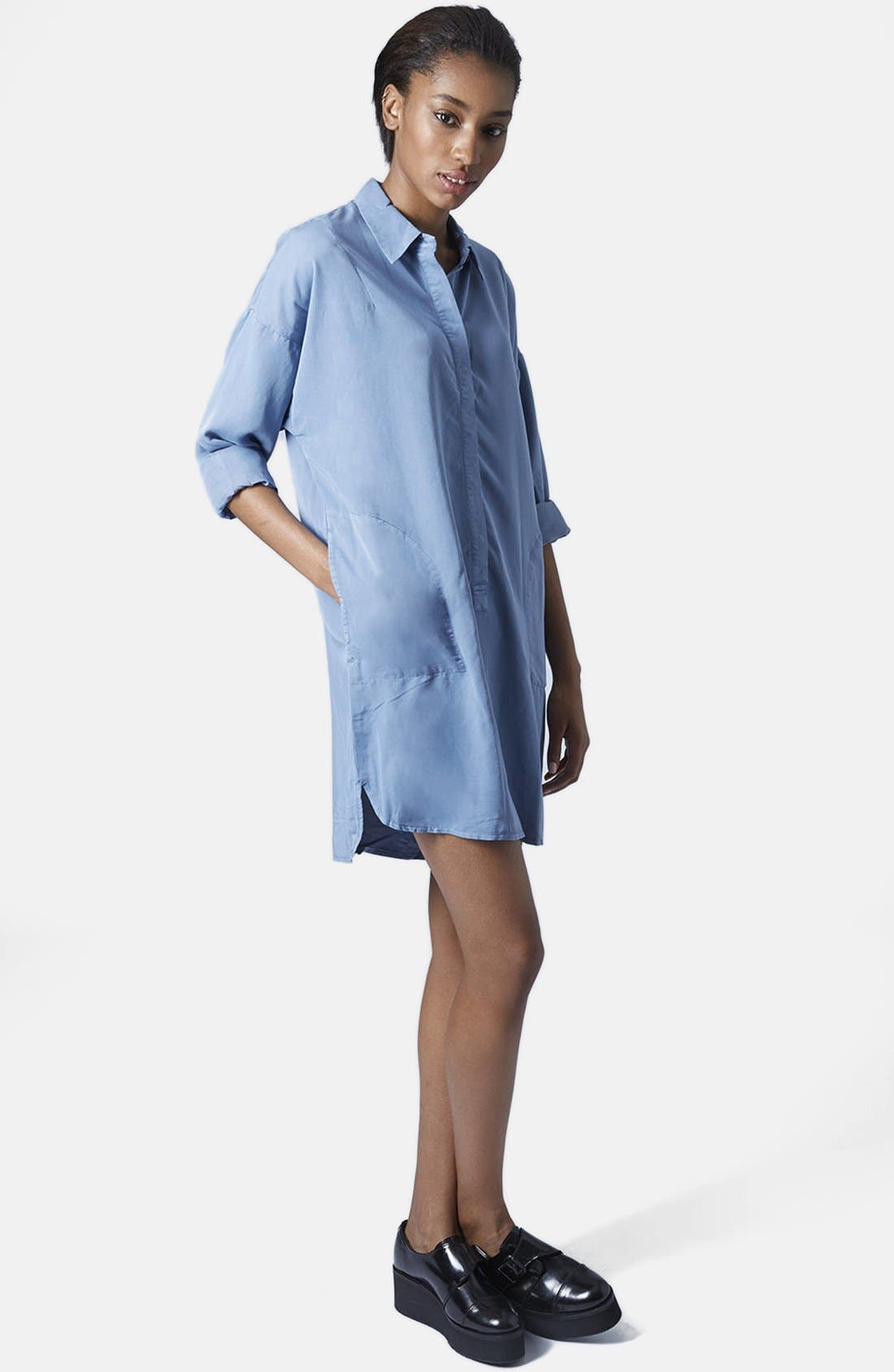 Alternate Image 5  - Topshop Relaxed Shirtdress