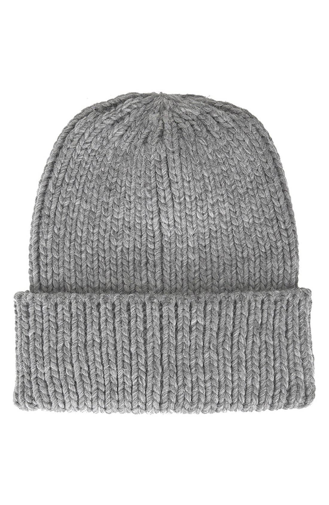 Alternate Image 1 Selected - Topshop Rib Knit Beanie