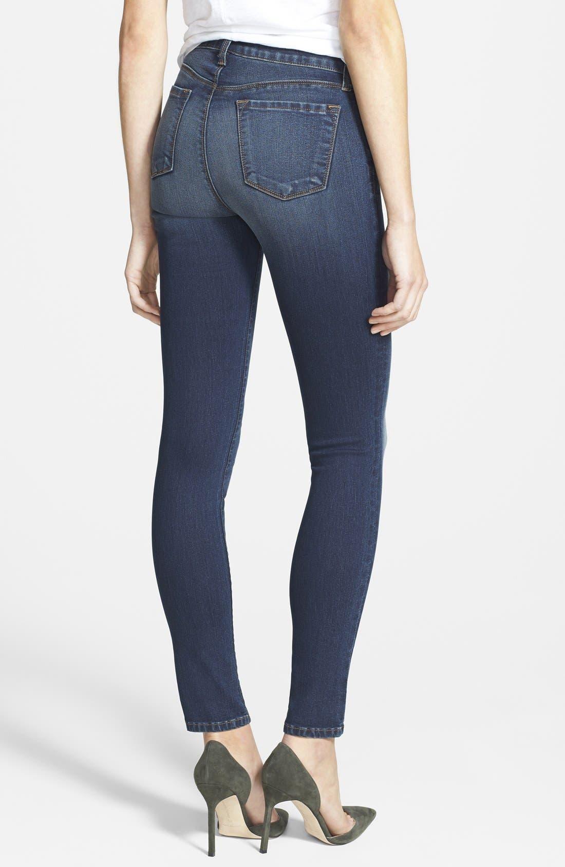 Alternate Image 2  - J Brand '8112 Mid Rise Rail' Skinny Jeans (Venture)