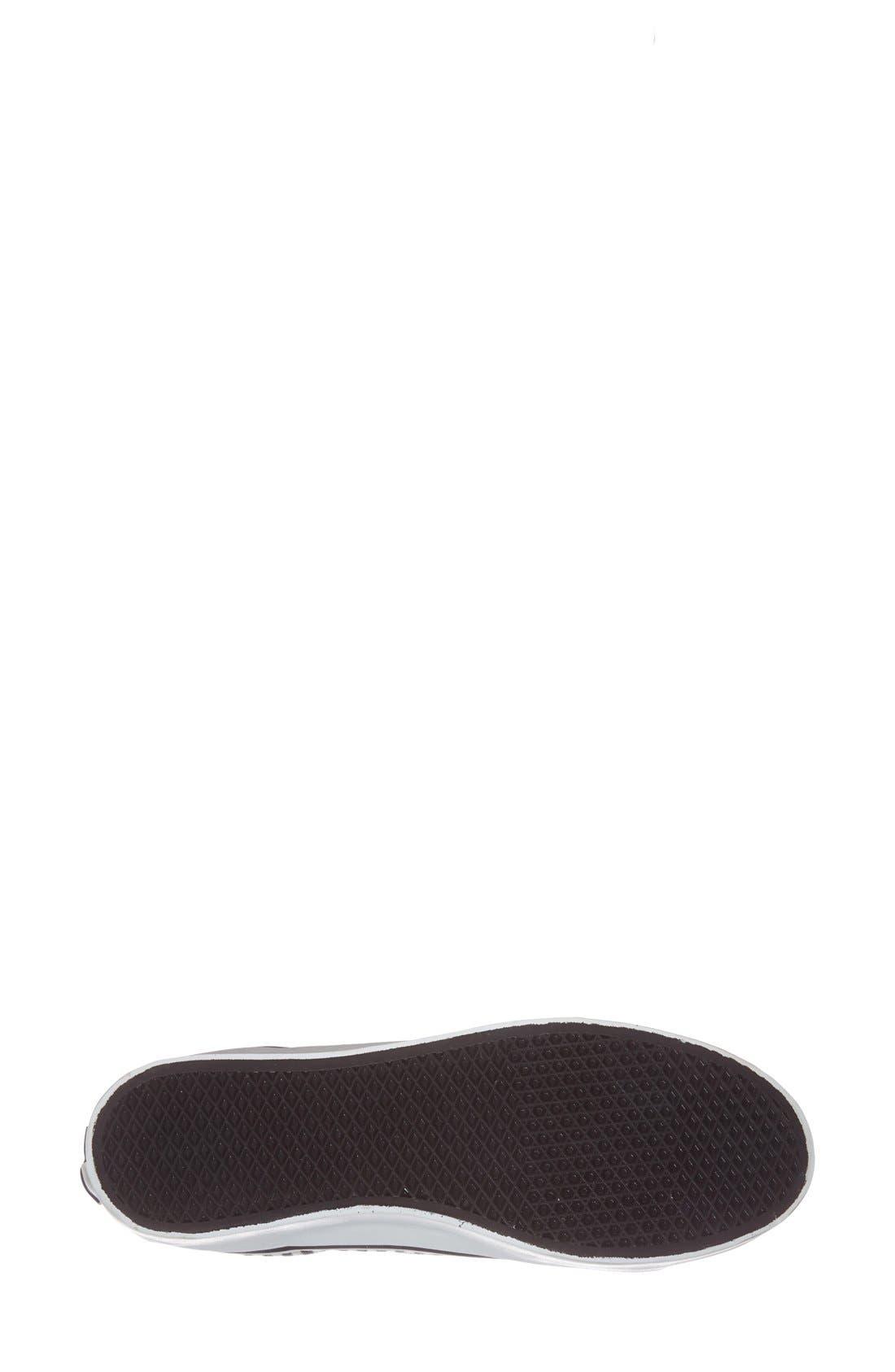 Alternate Image 4  - Vans 'Hickory Stripes Sk8-Hi Platform' Sneaker (Women)