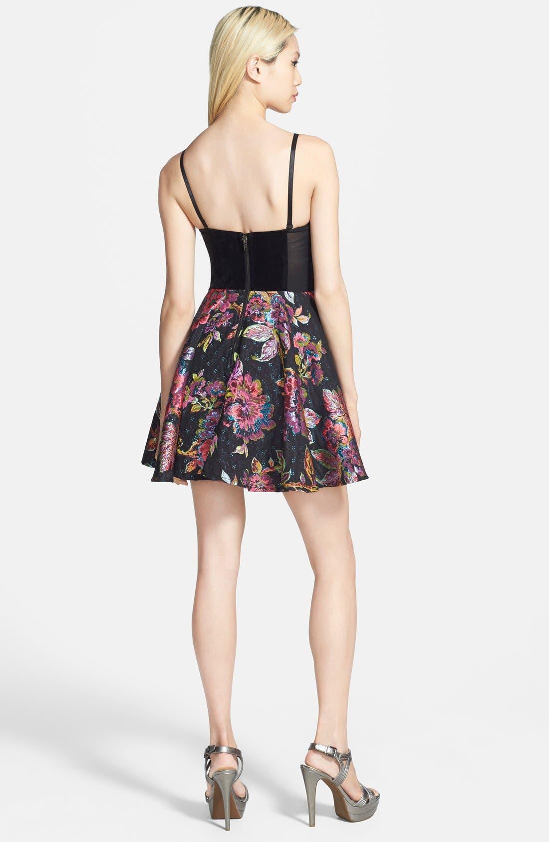 Alternate Image 2  - MINKPINK 'Tahitian Twilight' Fit & Flare Dress