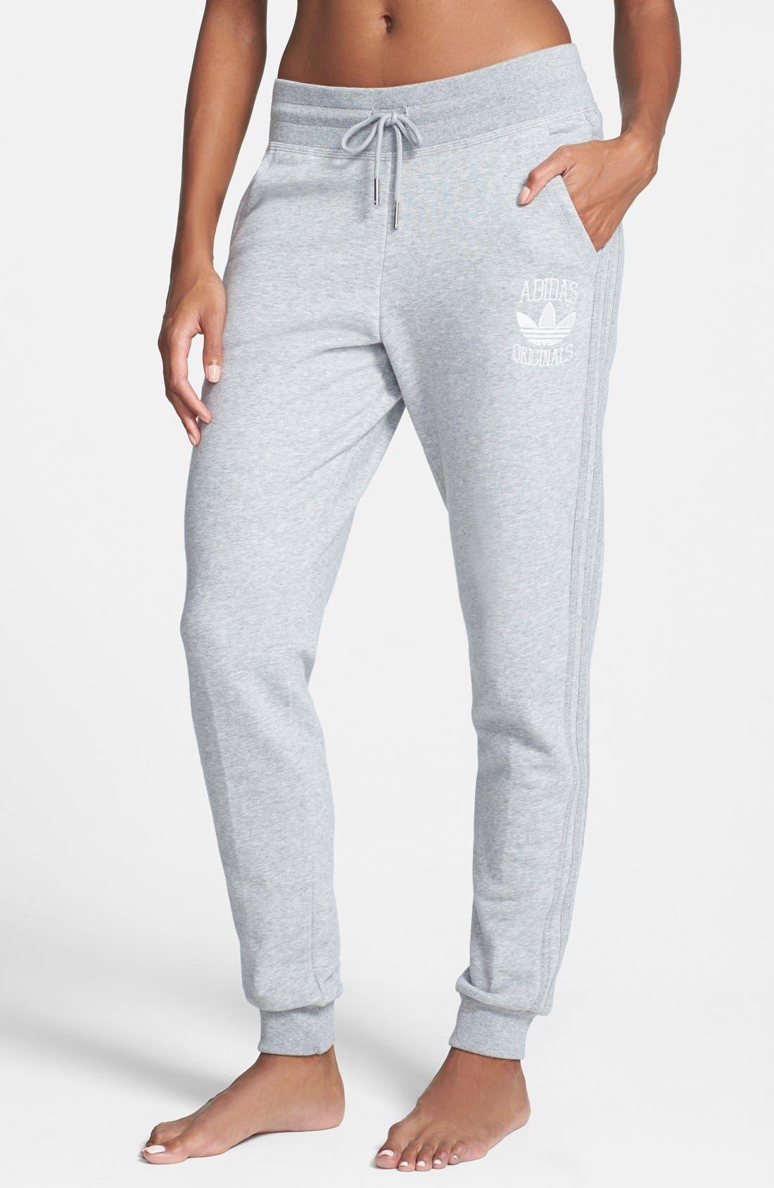 Alternate Image 1 Selected - adidas Slim Track Pants