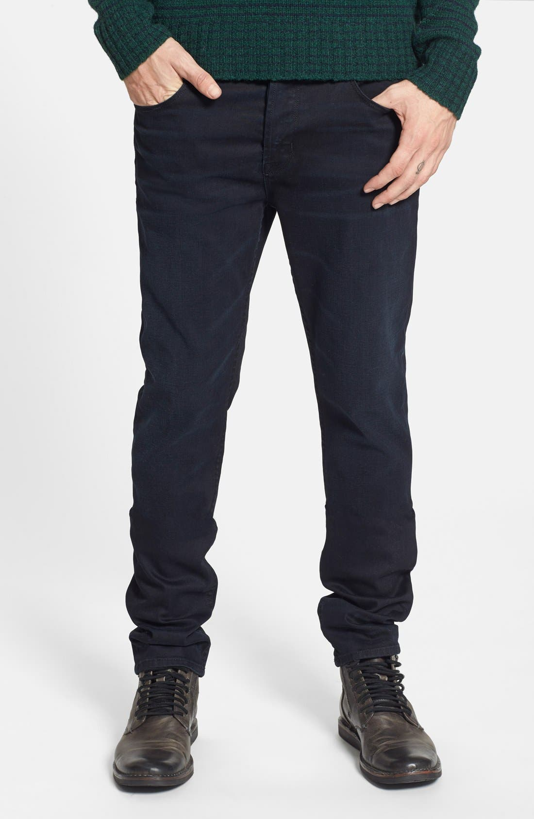 Alternate Image 1 Selected - Hudson Jeans 'Sartor' Slouchy Skinny Fit Jeans (Sanction)