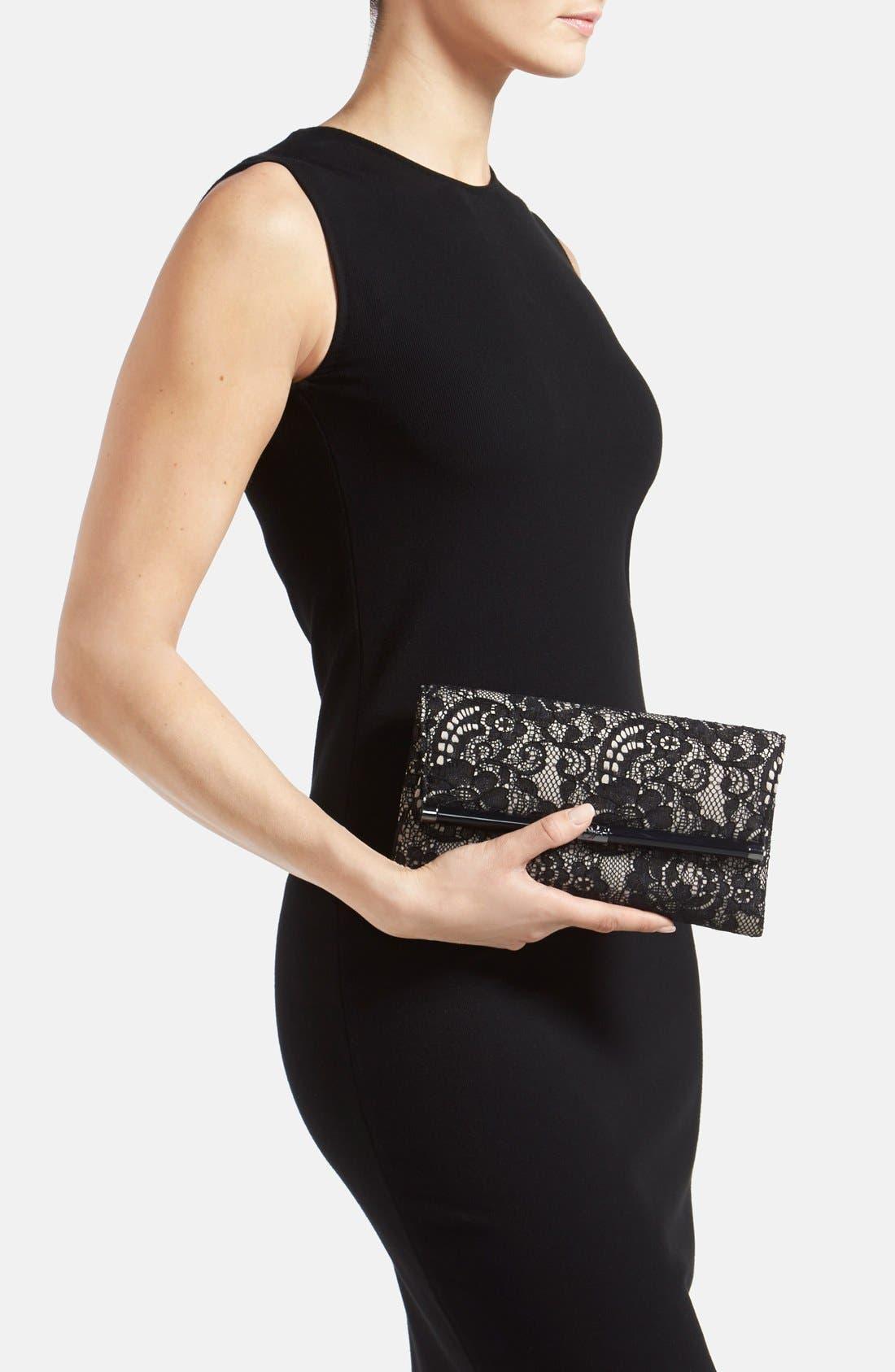 Alternate Image 2  - Diane von Furstenberg '440 - Lace' Envelope Clutch