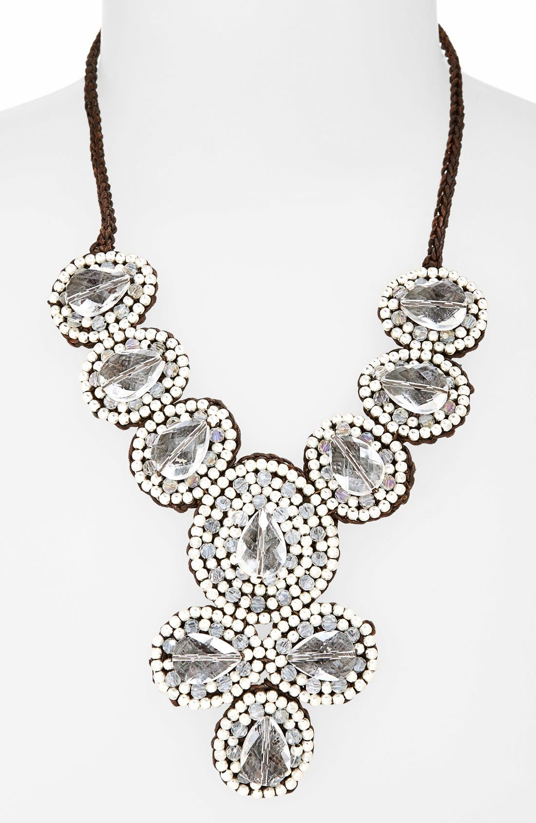 Alternate Image 2  - Panacea Crystal Statement Necklace