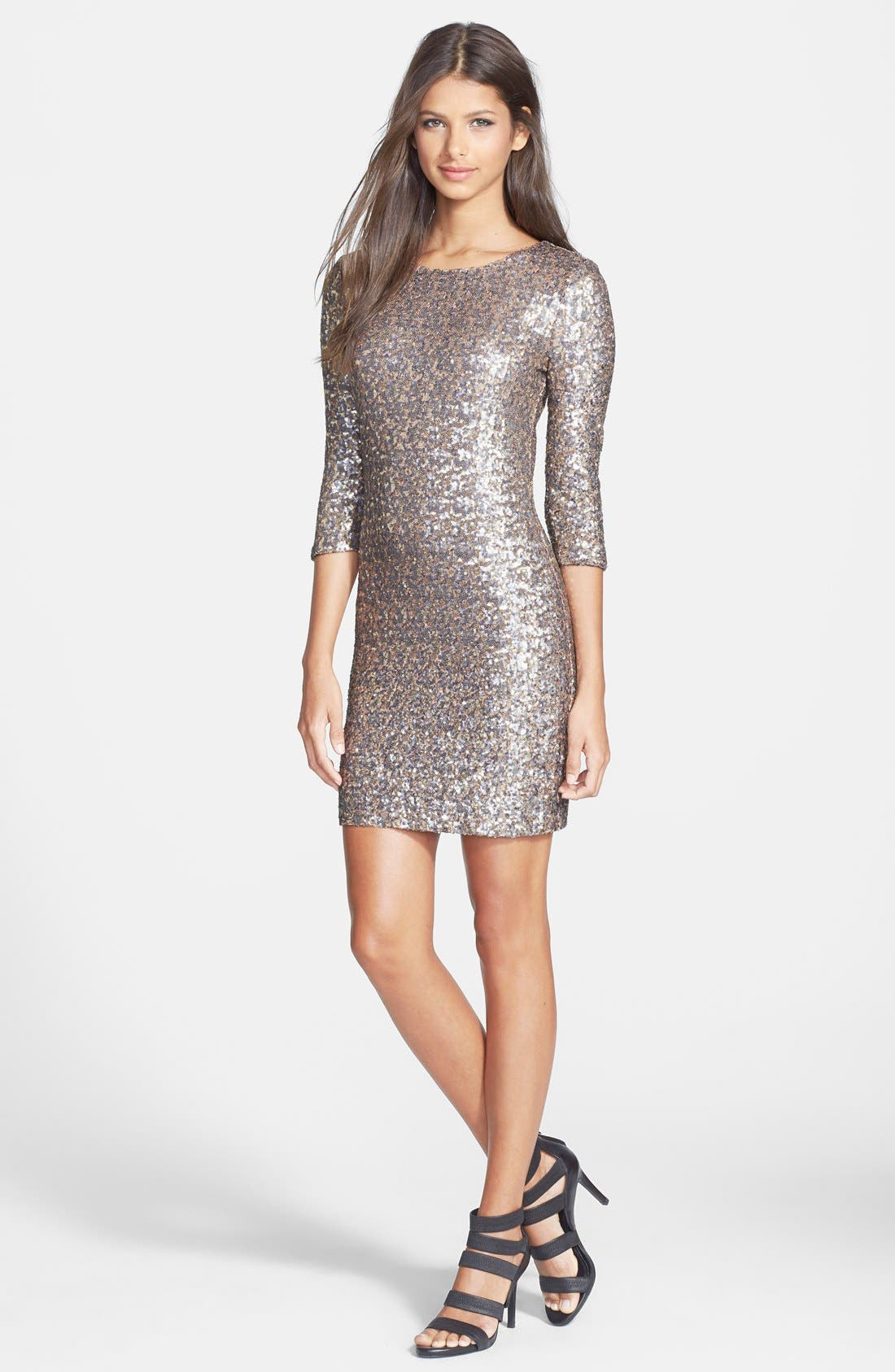 Alternate Image 3  - BB Dakota 'Valet' Sequin Body-Con Dress