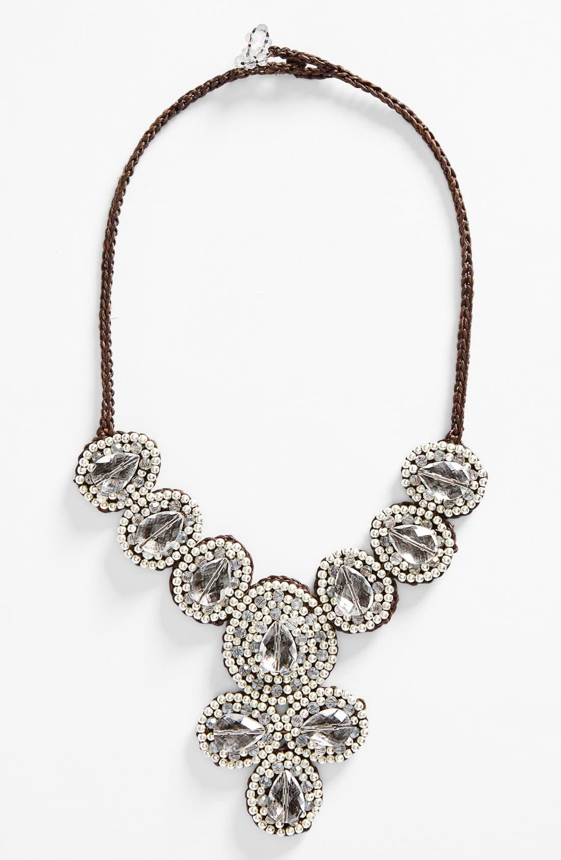 Main Image - Panacea Crystal Statement Necklace