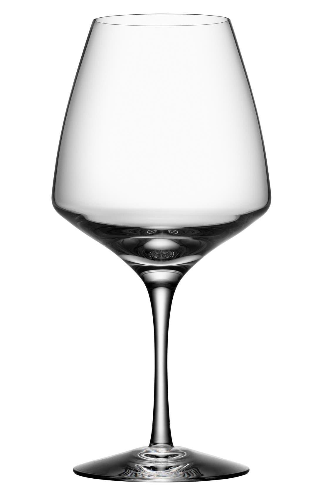 ORREFORS Pulse Set of 4 Wine Glasses