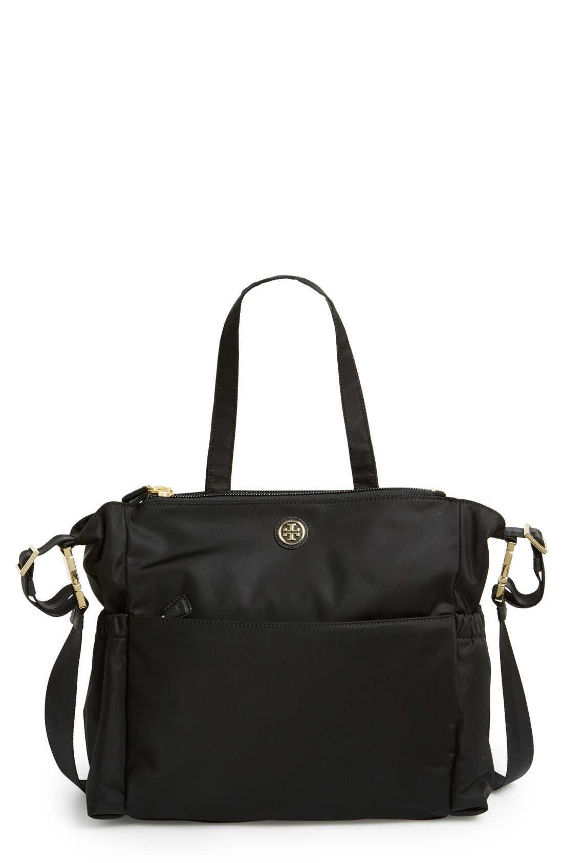 Main Image - Tory Burch Nylon Baby Bag