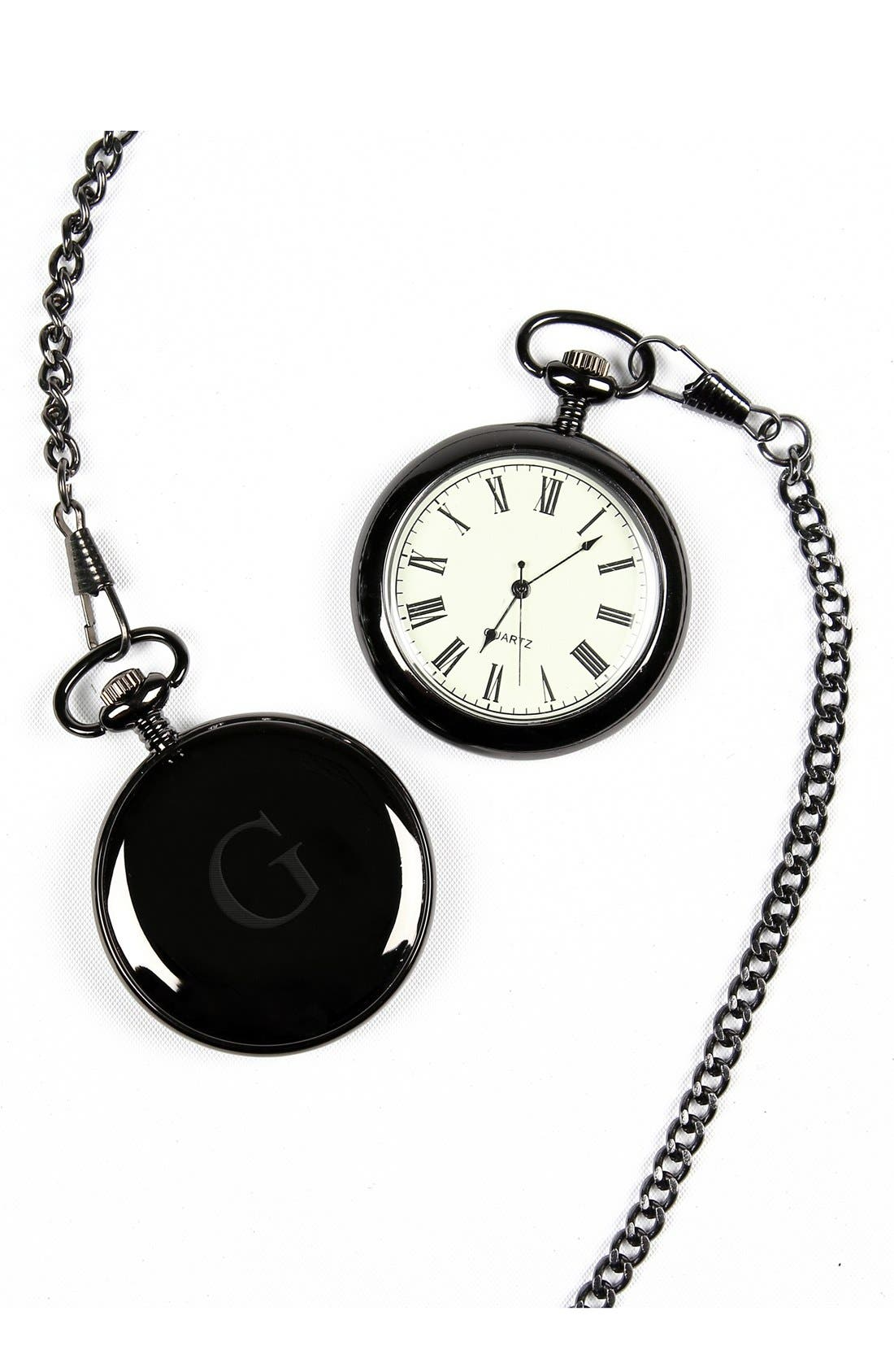CATHY'S CONCEPTS Monogram Pocket Watch, 44mm