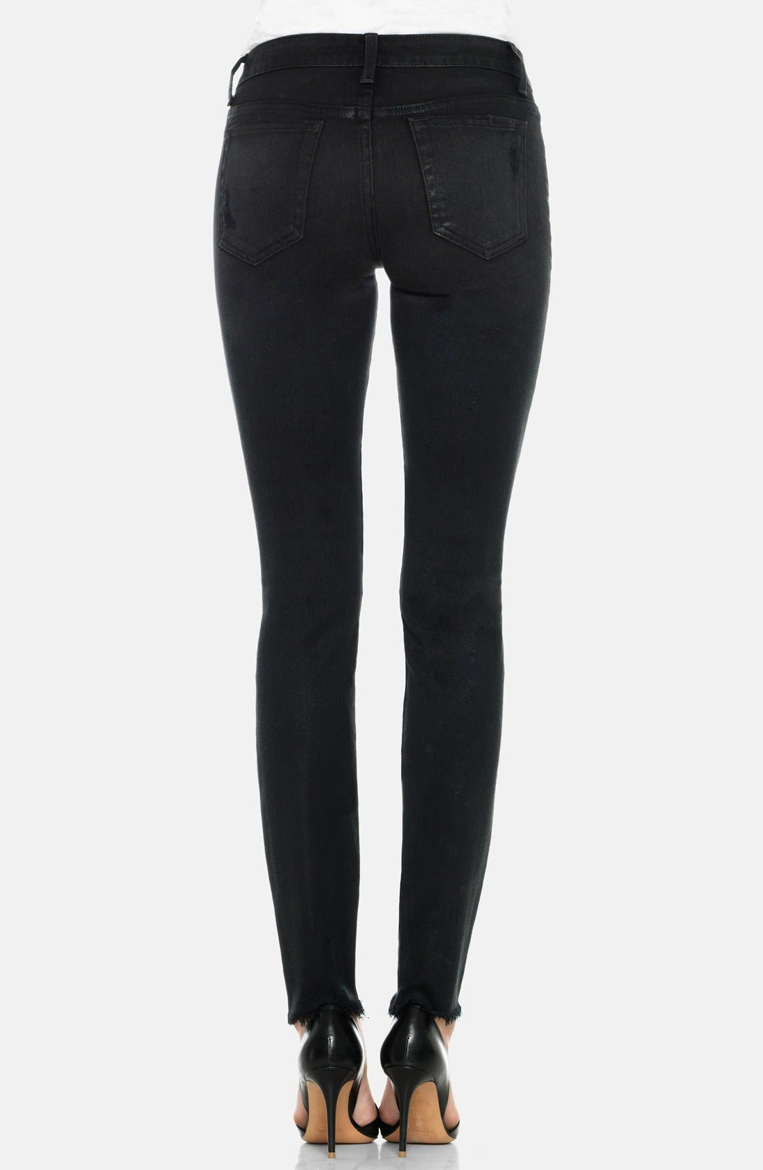 Alternate Image 2  - Joe's 'Finn' Destructed Skinny Ankle Jeans (Braelyn)