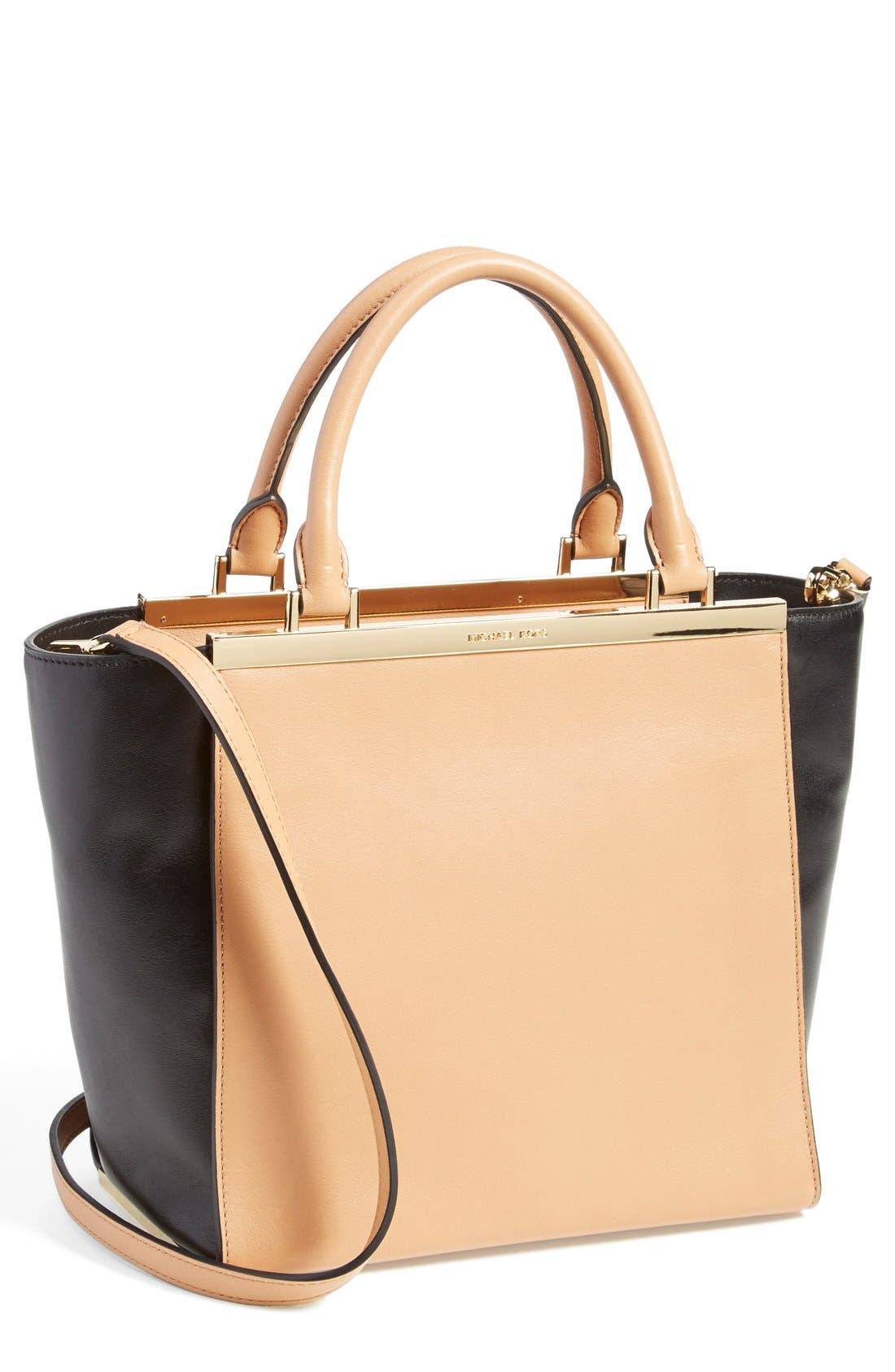 Alternate Image 1 Selected - MICHAEL Michael Kors 'Lana Medium' Leather Tote