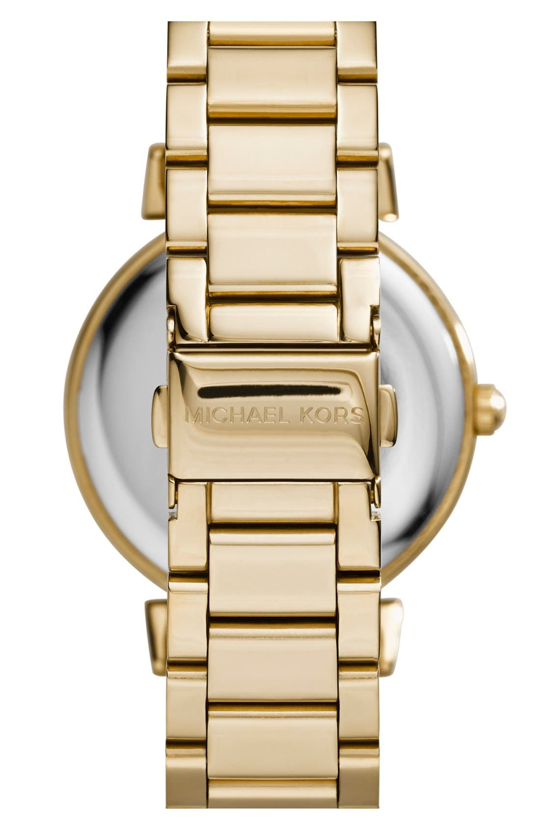 Alternate Image 2  - Michael Kors 'Caitlin' Crystal Dial Bracelet Watch, 38mm