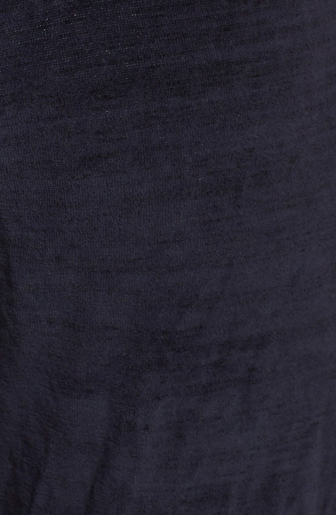 Alternate Image 4  - Monrow 'Cosmic' Vintage Velour Sweatpants