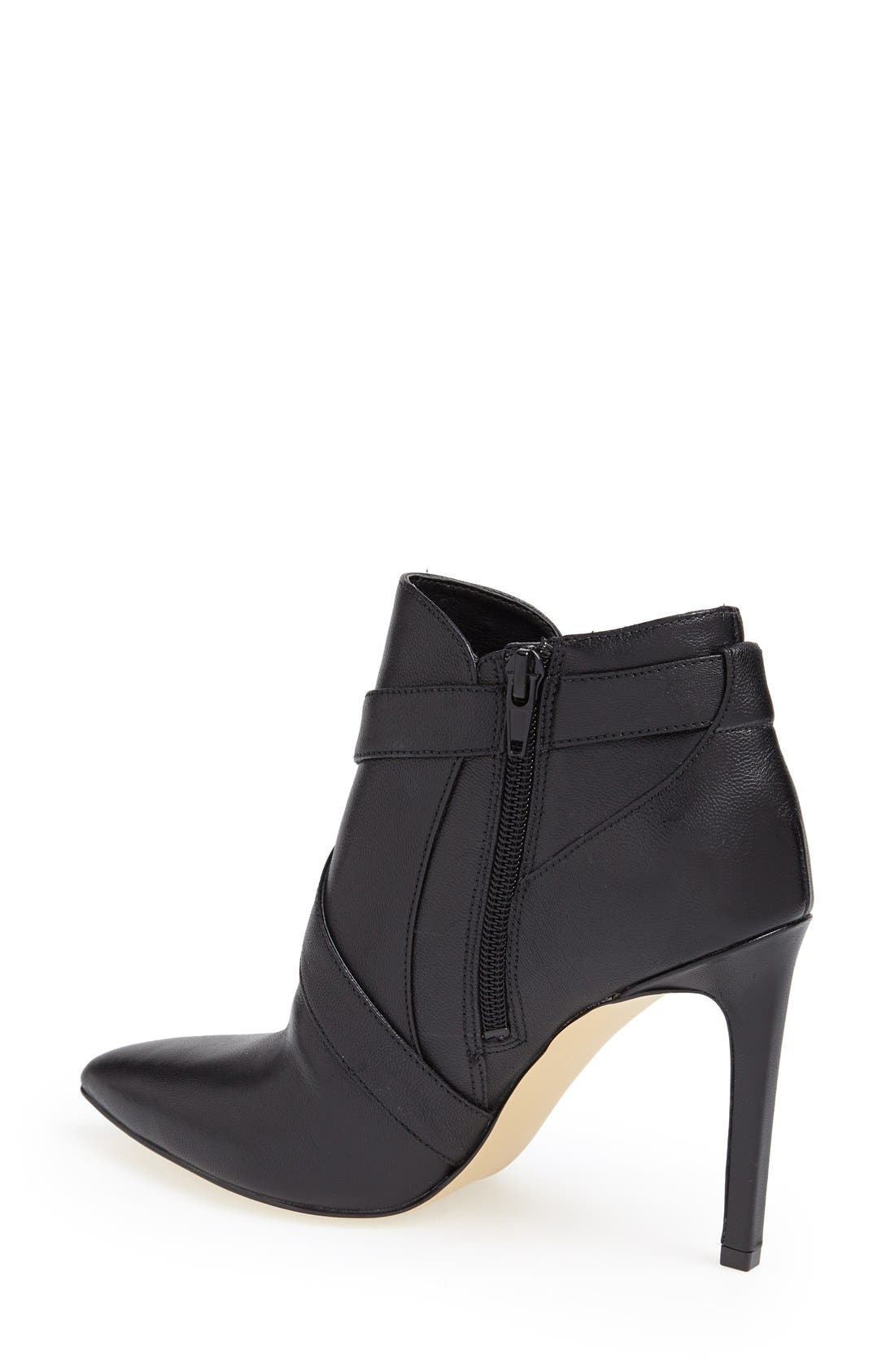 Alternate Image 2  - GUESS 'Valari' Leather Pointy Toe Bootie (Women)