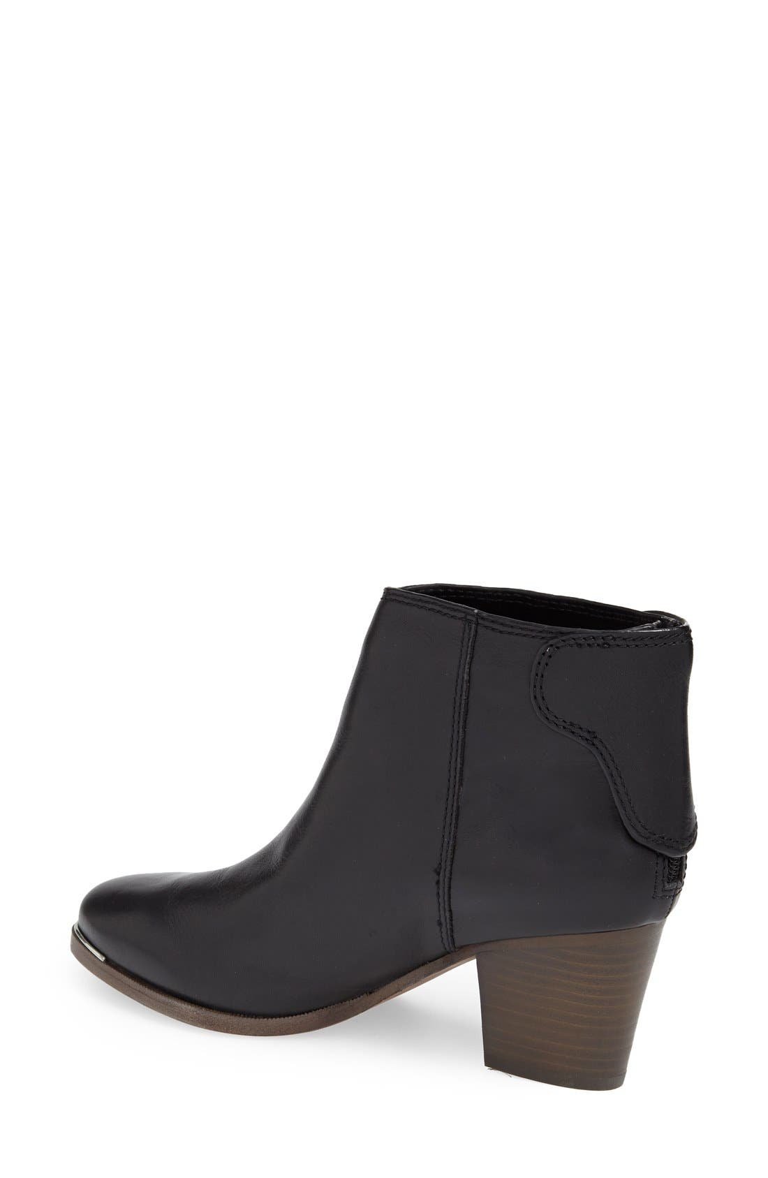 Alternate Image 2  - COACH 'Waldorf' Leather Bootie (Women)
