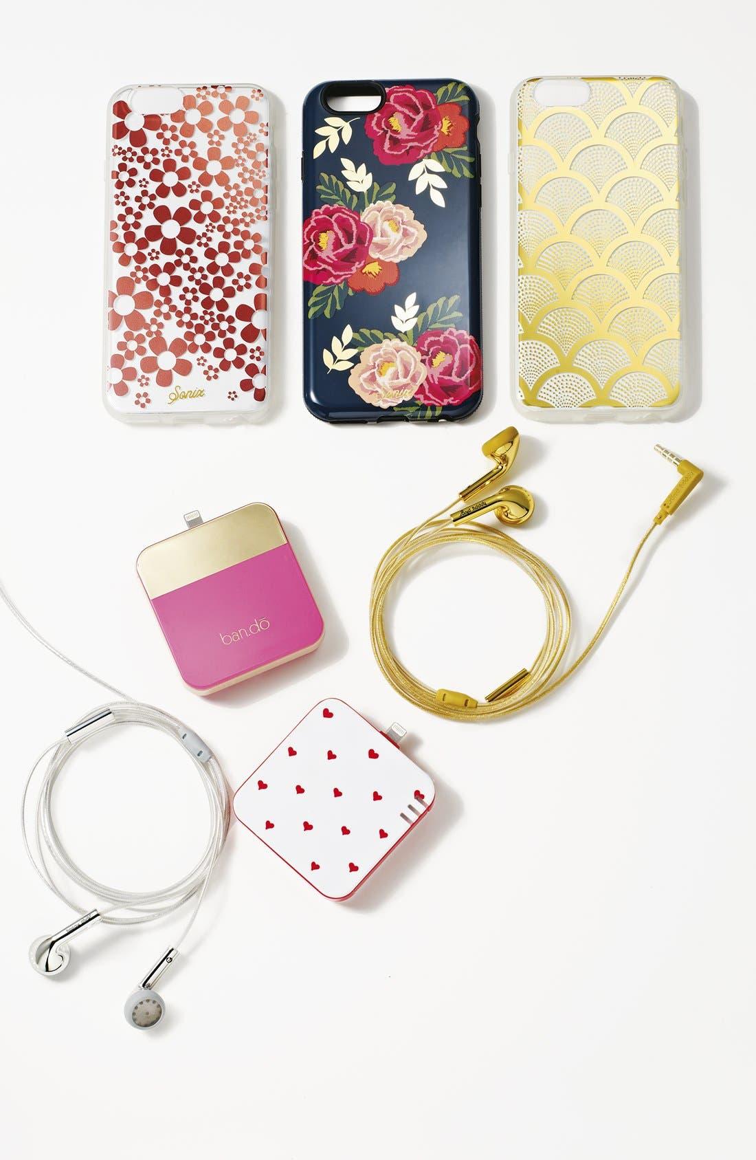 Alternate Image 2  - Sonix 'Gold Lace' Clear iPhone 6 Plus Case