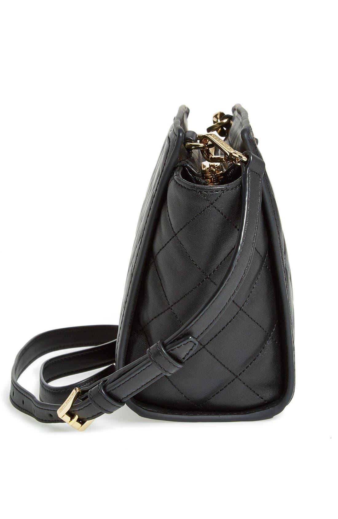 Alternate Image 3  - MICHAEL Michael Kors 'Medium Selma' Quilted Leather Messenger Bag